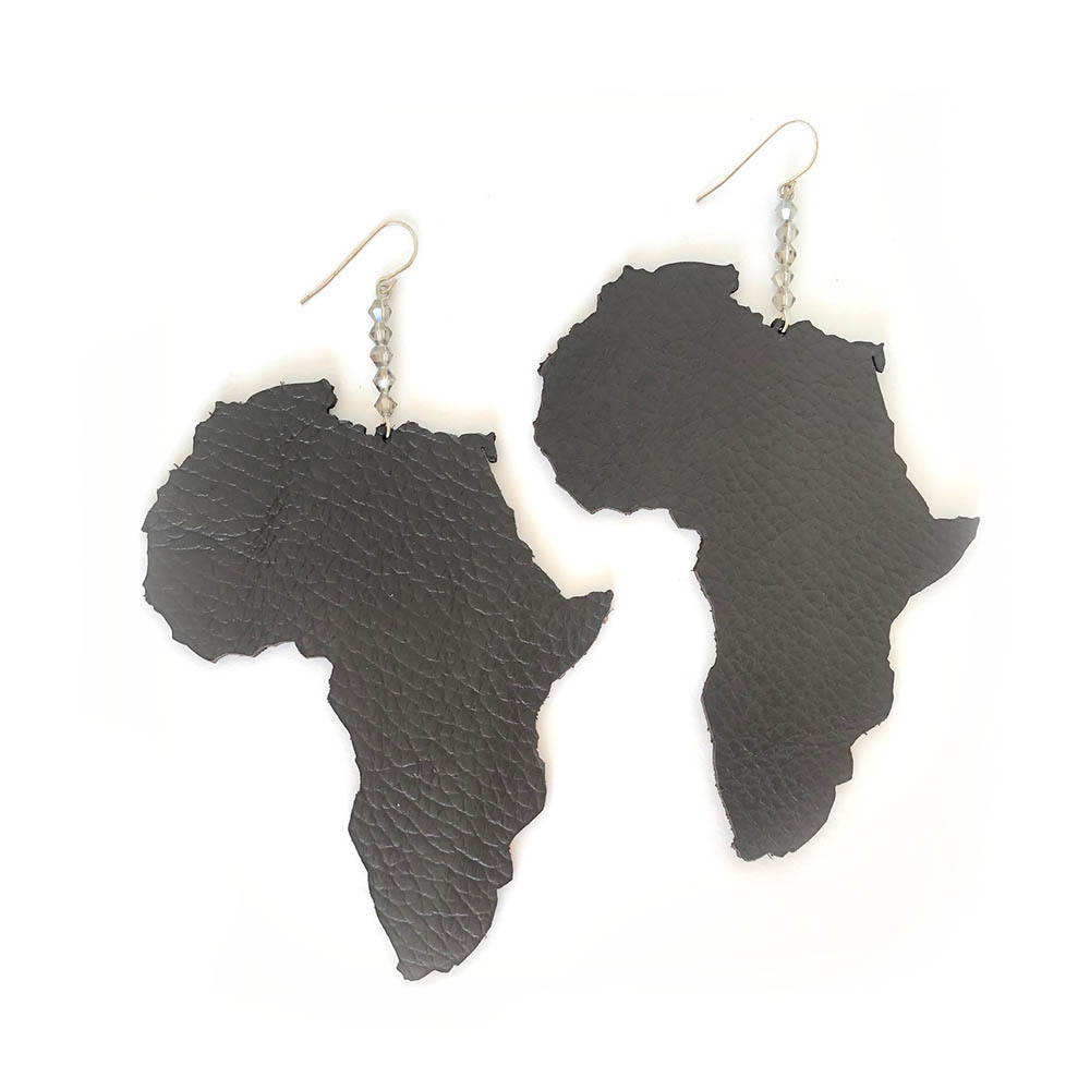 I Love Africa Large Sterling Silver
