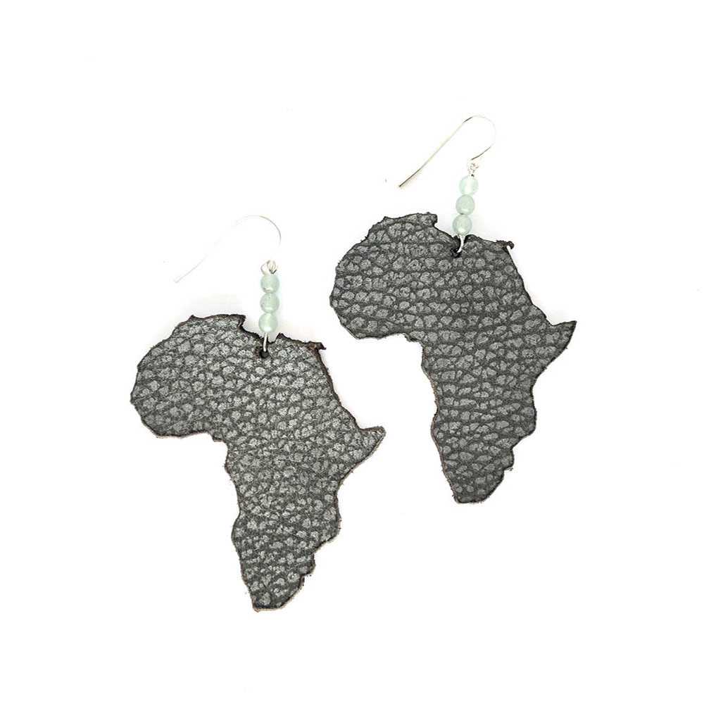 I Love Africa Small Sterling Silver