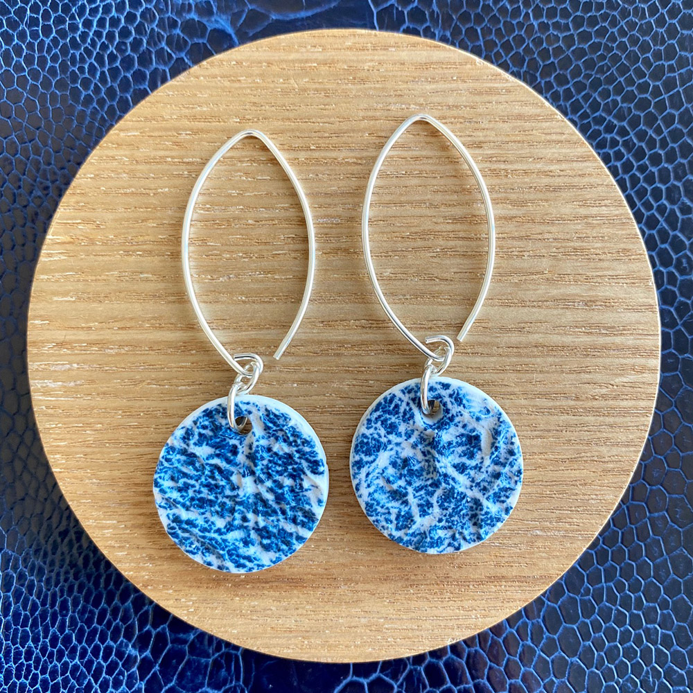 Down To Earth Porcelain Earrings